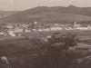 Pohľad na Púchov od Púchovskej skaly z roku 1937