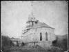 Najstaršia fotografia evan. kostola v Púchove nájdená na fare v Starej Pazove v Srbsku, zachytená okolo roku 1879
