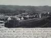 Pohľad na Púchov z Hor. Kočkoviec v r. 1906