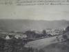 Pohľad na Púchov z Hor. Kočkoviec v r. 1913