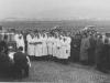 Slávnostné otvorenie mliekarní v Púchove na začiatku 50. rokov minulého storočia