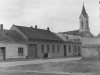 Križovatka Hollého a Moravskej ulice v polovici 20. storočia