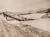 1. železničný most trate gen. Štefánika v Púchove zničený odchádzajúcimi nemeckými vojskami 30. 4. 1945
