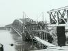 Obnova železničného mosta na trati gen. Štefánika pri Púchove po druhej svetovej vojne