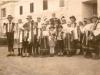 Detská delegácia z Evanjelickej ľudovej školy z Lúk (pod Makytou) na návšteve 1. prezidenta ČSR T. G. Masaryka v Topoľčiankach v roku 1925