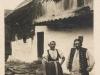 Krojovaný pár z Púchova - Ihrišťa na začiatku 20. storočia