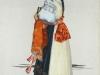 Dievčenský kroj zo Záriečia na plátne M. Benka (http://ecav.zariecie.sk/images/stories/documents/historia_clanky/martinbenka.pdf - na študijné účely)