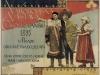 Plagát z uvedenej výstavy z r. 1895, na ktorú pozýval mládenec vo valašskom kroji z Púchovskej doliny