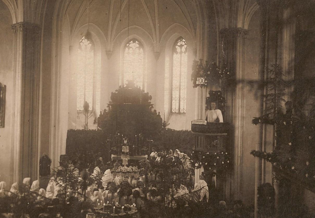 31. október 1917 v evan. kostole v Púchove - 400. výročie pamiatky reformácie