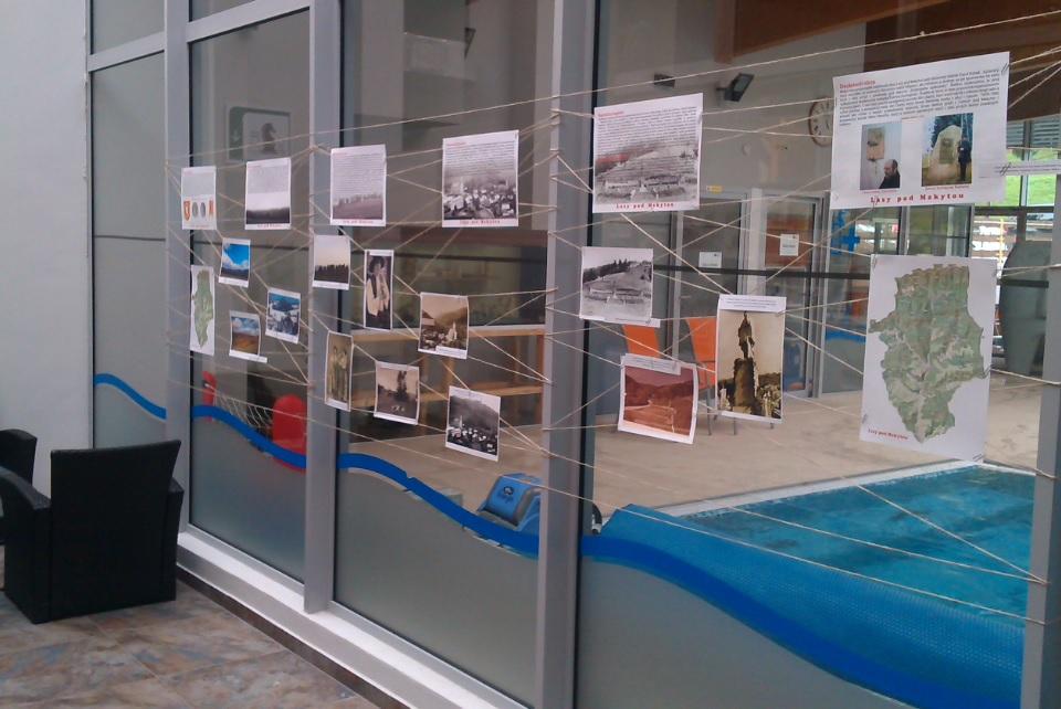 Výstava o dejinách obce Lazy pod Makytou v Hoteli Čertov 8/2014