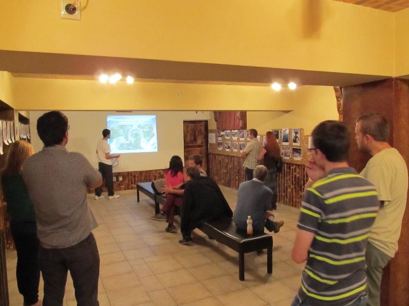 Prednáška s prezentáciou o výstavbe Priehrady mládeže pri Púchove