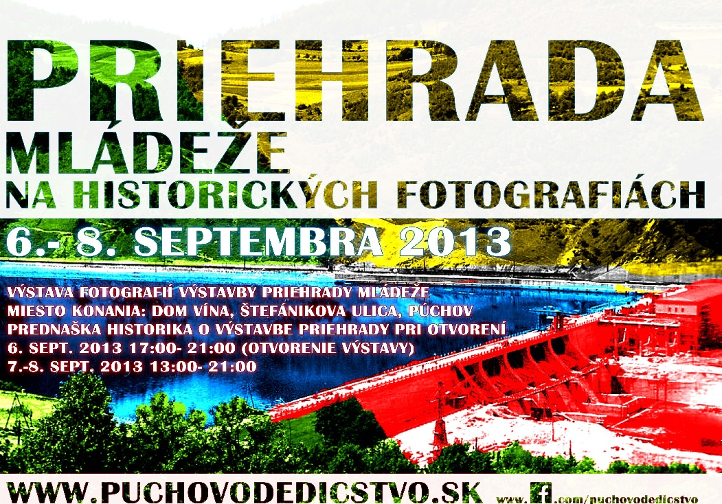 Plagát k výstave fotografií o