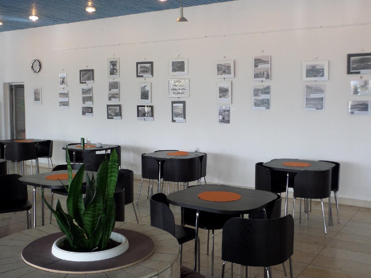 Výstava fotografií o výstavbe Priehrady mládeže (1949-1959) v Kúpeľoch Nimnica (kúp. dom Balnea)