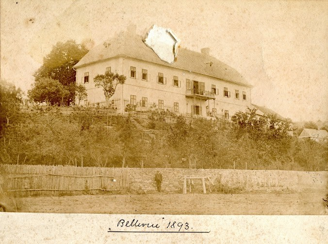 Tzv. Malý kaštieľ (fotografia z r. 1893) na Led. Rovniach v lokalite Staré Dvory, ktorý v súčasnosti slúži ako obytný dom