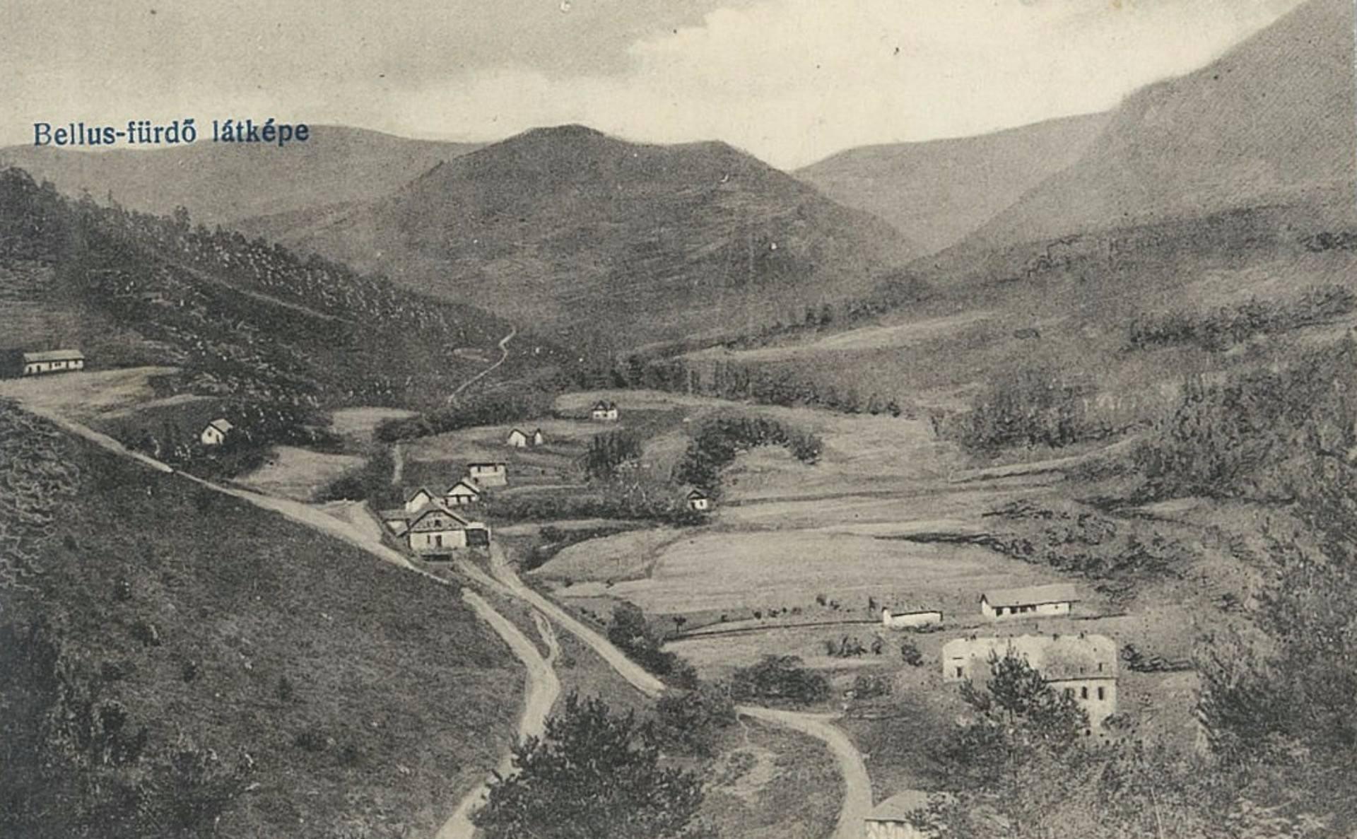 Belušské Slatiny na prelome 19. a 20. storočia