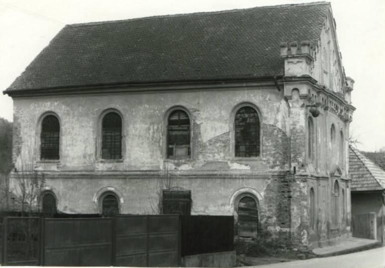 Synagóga v obci Pruské (?- po 2. svetovej vojne)