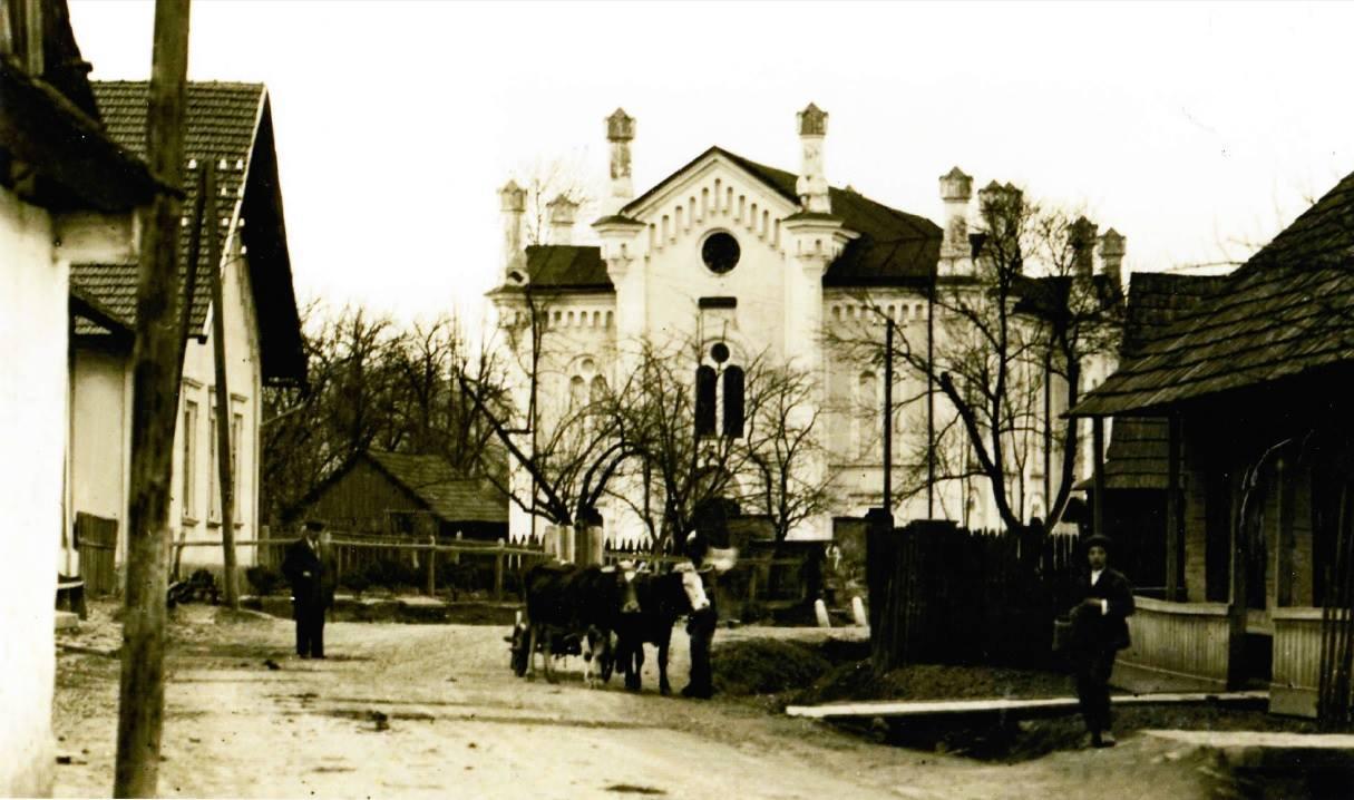 Synagóga v obci Lúky (pod Makytou) 1872-1945