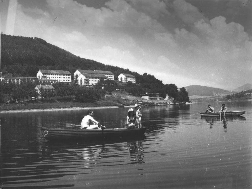 Priehrada mládeže, resp. Kúpele Nimnica v cca 70. rokoch minulého storočia