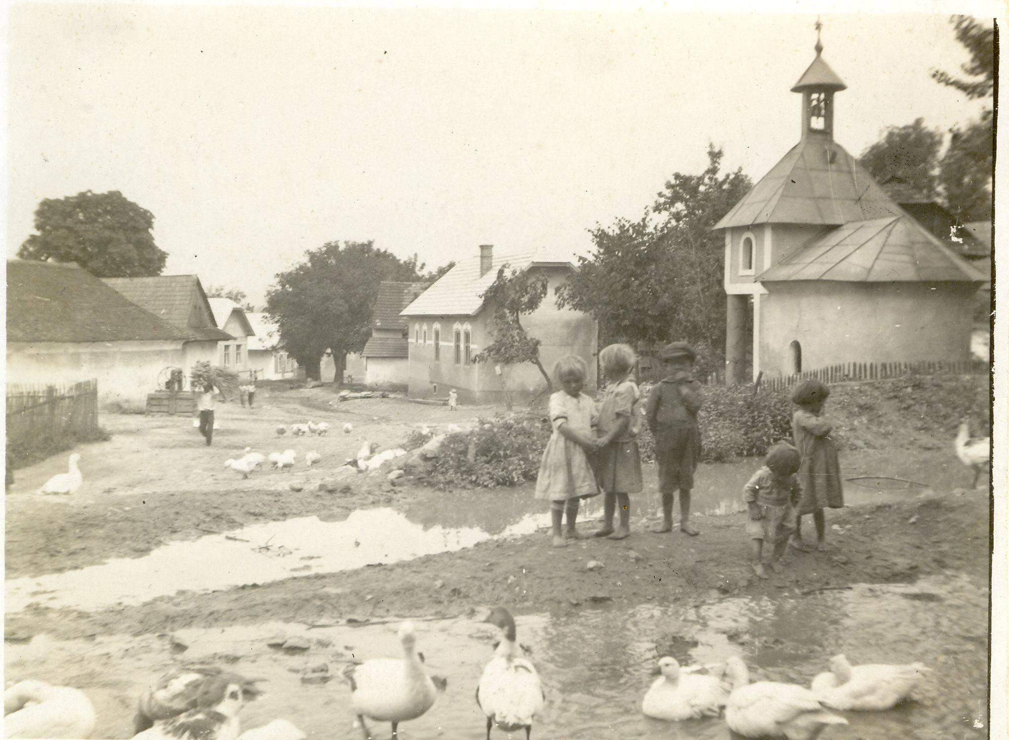 Podhorie (dnes časť Beluše) v prvej polovici 20. storočia