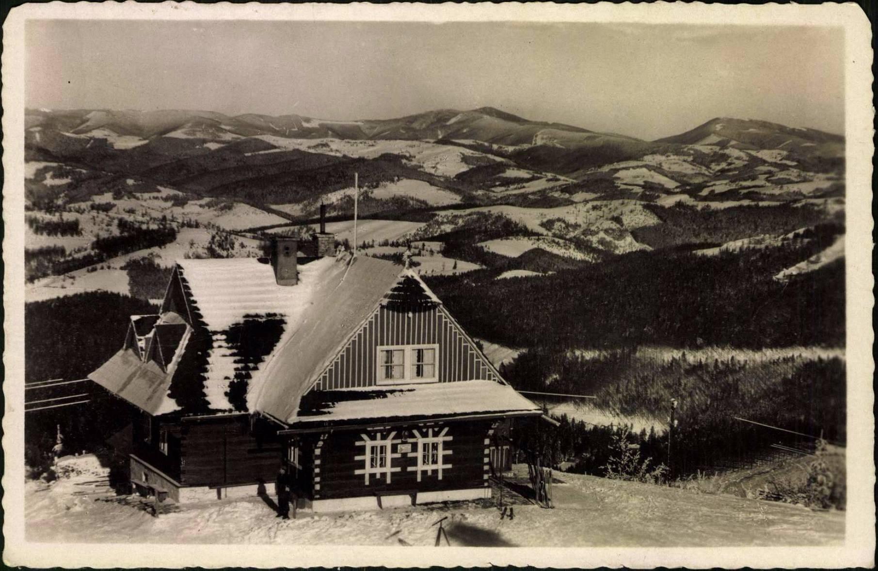 Chata na Kohútke na prelome 30. a 40. rokov minulého storočia