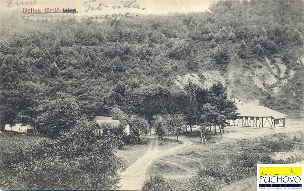 Kúpele Belušské Slatiny na začiatku 20. storočia