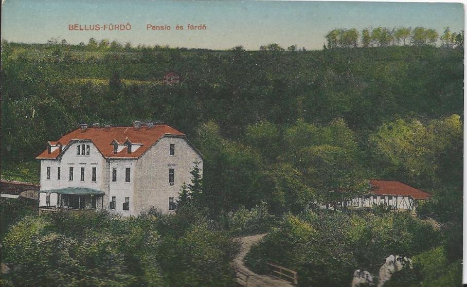 Kúpele Belušské Slatiny na prelome storočí (Uhorsko)