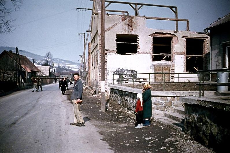 Prestavba starého Kultúrneho domu v r. 1963 (www.dohnany.sk)