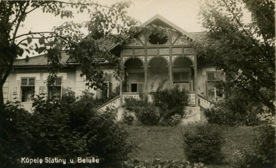 Kúpele Belušské Slatiny v polovici 20. storočia