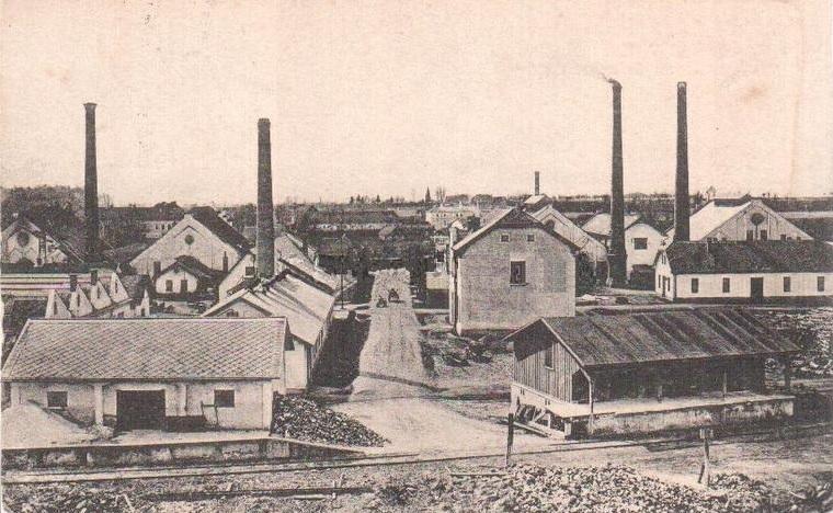 Sklárska fabrika v Lednických Rovniach v časoch R-U monarchie, resp. na začiatku 20. storočia