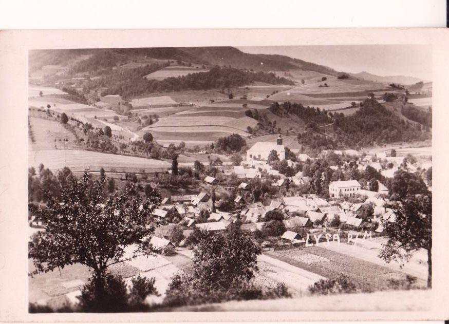 Lysá pod Makytou v 40. rokoch minulého storočia