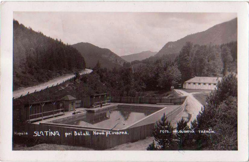 Kúpele Belušské Slatiny v časoch 1. ČSR