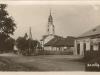 Dnešná Ulica Ľudovíta Štúra v Beluši na fotografii z 30. rokov 20. storočia