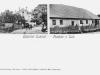 Pohľadnica z obce Lúky v Púchovskej doline zo začiatku 20. storočia: výnimočná je aj druhou známou fotografiou synagógy, ktorú na konci 2. svetovej vojny zničili ustupujúce nemecké vojská...