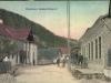 """Centrum obce Lúky (z doslovného maďarského prekladu """"Dolné Lúky"""") tak, ako ste ho zrejme ešte nevideli. Pohľadnica bola poslaná v roku 1923, no pochádza z prelomu 19. a 20. storočia"""