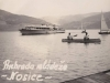 """Na fotografii zo 60. rokov minulého storočia sa podarilo  zachytiť Priehradu mládeže z kultového prístavu  s názvom """"Kotva"""""""