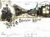 Pohľadnice obce Lúky (pod Makytou) na konci 19. storočia