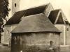 Kostolík sv. Anny v Beluši (z 2. polovice 13. storočia) je unikátny najmä polkruhovými románskymi oknami a svojím pôdorysom, ktorý tvorí štvorcová loď a polkruhová apsida. V jeho vnútri sa nachádzajú ešte malé zvyšky gotických fresiek, ktoré sú približne zo 14. storočia. O svoju funkciu prišiel okolo roku 1560, kedy bol vedľa neho postavený nový a väčší kostol, zasvätený sv. Alžbete Uhorskej. Dnes je kostolík medzi obyvateľmi známy skôr ako kaplnka. V období reformácie získali kostolík evanjelici. Neskôr bol využívaný ako karner (kostnica, osárium), pričom v ňom boli uložené kostrové pozostatky zo zrušeného cintorína v jeho tesnej blízkosti. Neskôr boli tieto pozostatky uložené na nový cintorín. Priložená fotografia by mala pochádzať zo začiatku 20. storočia
