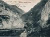 Tzv. kamenné vráta medzi Belušskými Slatinami a Mojtínom v roku 1911