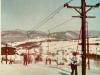 Lyžovačka v Mojtíne v 80. rokoch 20. storočia