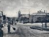Centrum obce Lednica na začiatku 20. storočia