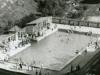 Kúpalisko v Belušských Slatinách okolo roku 1930