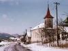 Farebná fotografia obce Dohňany v zime r. 1964 (www.dohnany.sk)