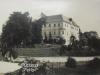 Fotografia kaštieľa v Horovciach v prvej polovici 20. storočia