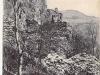 Hrad Lednica na prelome 19. a 20. storočia
