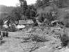 Katastrofálna povodeň v Púchovskej doline v 30. rokoch 20. storočia. Fotografia zo Záriečia  (ecav.zariecie.sk)
