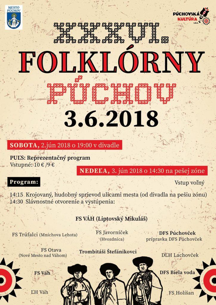 XXXVI. FOLKLÓRNY PÚCHOV @ Trenčiansky kraj | Slovensko