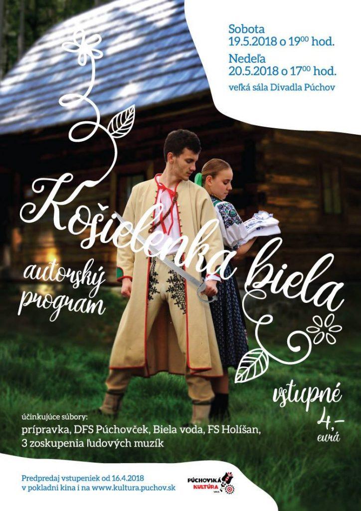 KOŠIELENKA BIELA - premiéra @ Trenčiansky kraj | Slovensko