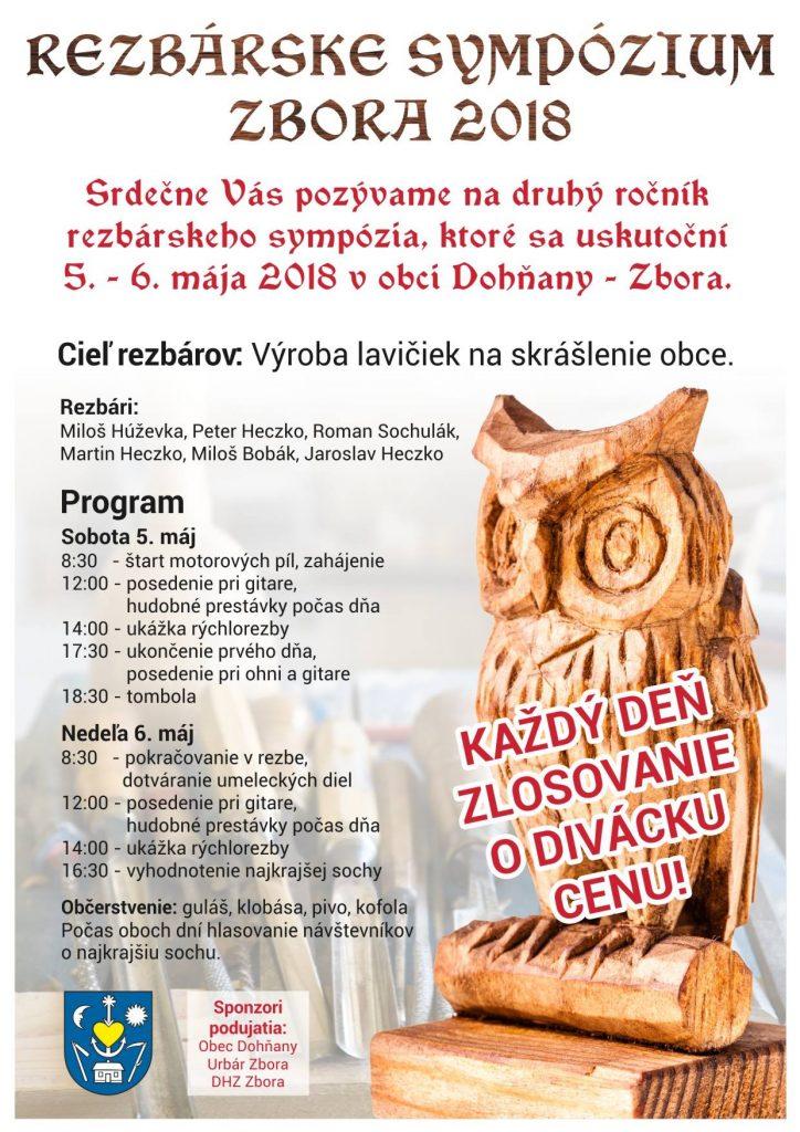 REZBÁRSKE SYMPÓZIUM 2018 - Zbora @ Dohňany | Trenčiansky kraj | Slovensko
