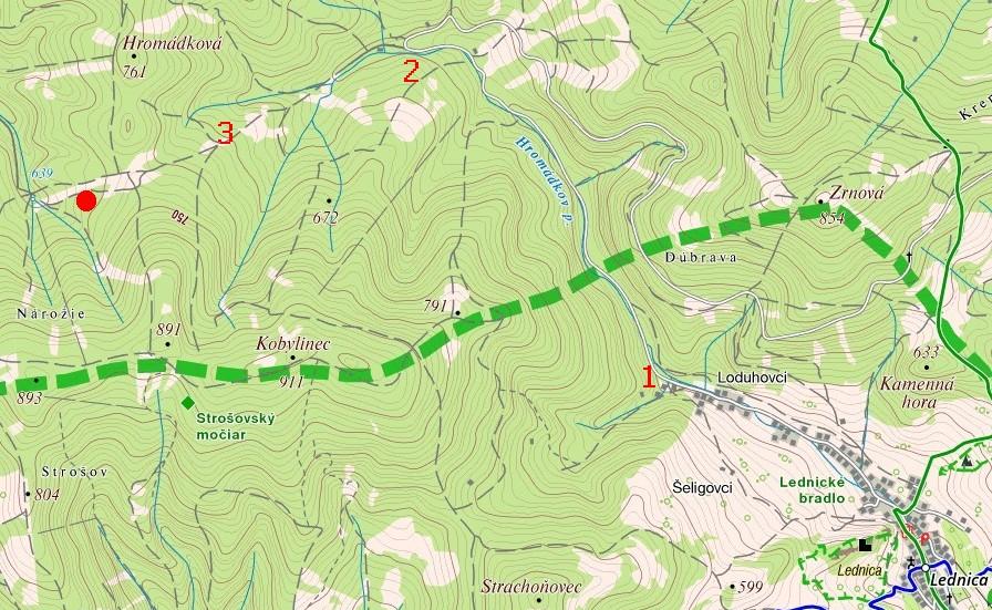 Mapa_pamatnik_Lednica