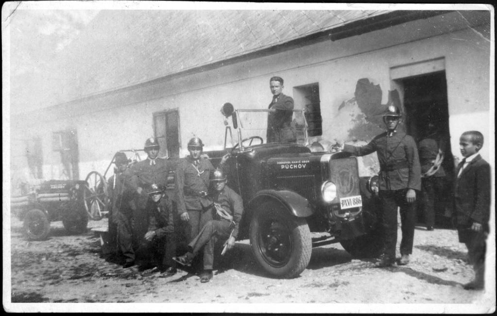 hasiči 30. roky